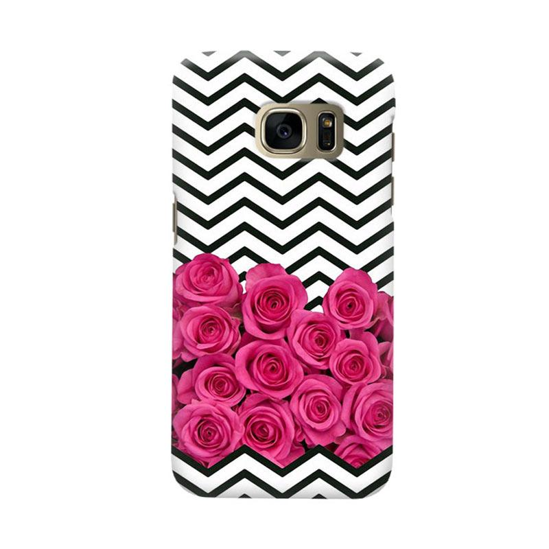 Indocustomcase Rose Cover Casing for Samsung Galaxy S6