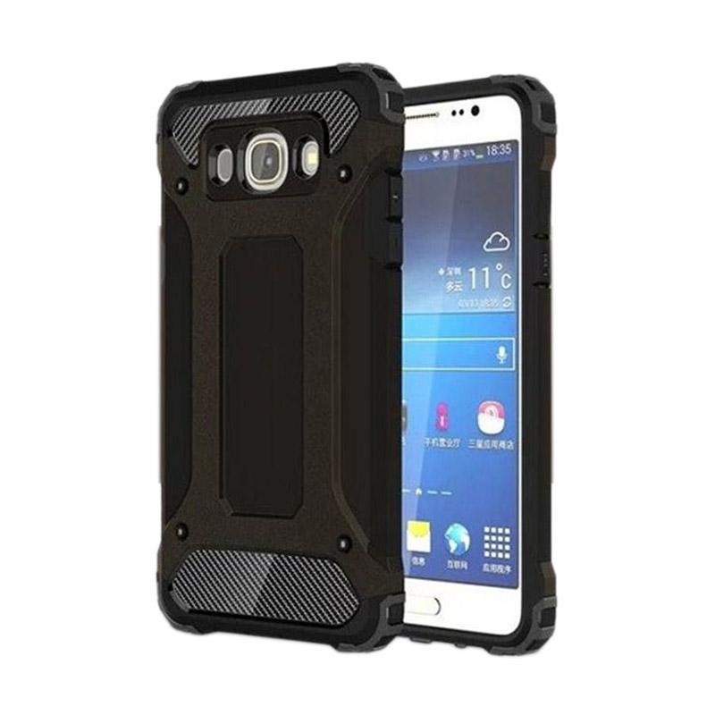 OEM Spigen Transformers Iron Robot Hardcase Casing for Samsung J510 J5 2016 - Black