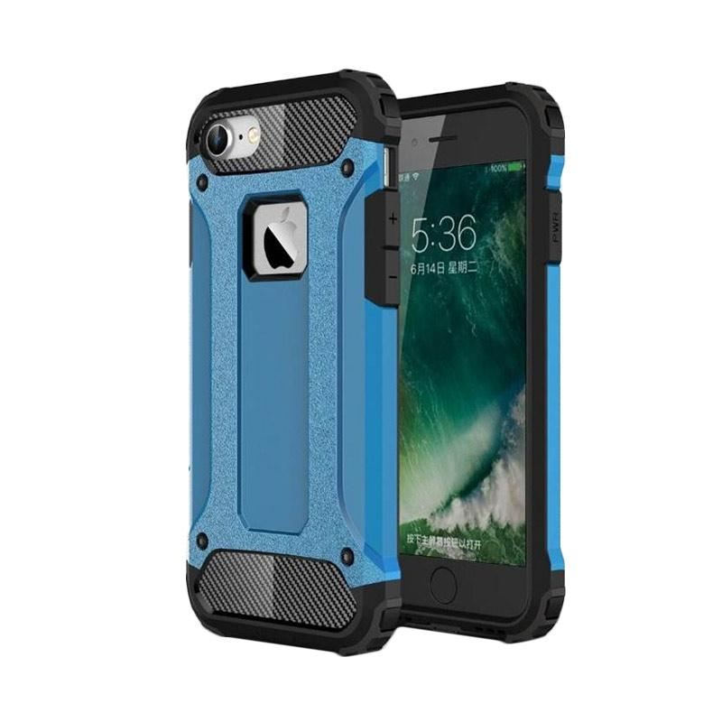 OEM Transformers Iron Robot Hardcase Casing for iPhone 6S Plus 5.5 Inch - Blue
