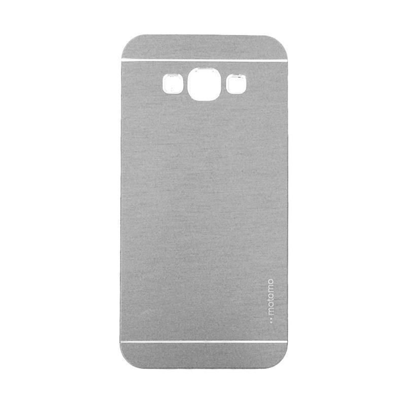 Motomo Metal Hardcase Backcase Casing for Samsung Galaxy A3 or A300F - Silver
