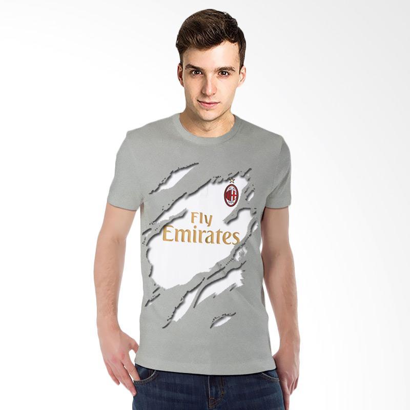 T-Shirt Glory Kaos 3D AC Milan Jersey Away Kaos Pria - Abu Misty Extra diskon 7% setiap hari Extra diskon 5% setiap hari Citibank – lebih hemat 10%