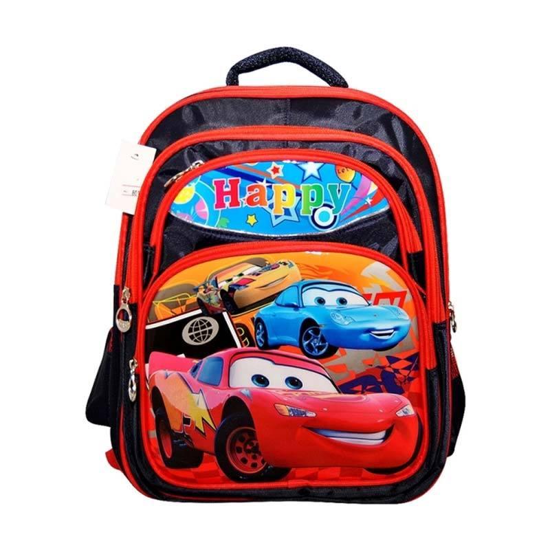 Tas Sekolah Anak Backpack Disney Artist Karakter Printing SB 502 CRZ - RED