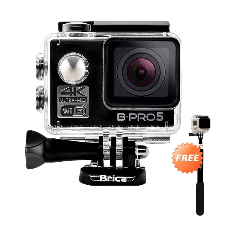 harga Brica B-PRO 5 Alpha Edition Version 2 Action Camera - Hitam [4K/ WIFI/ AE2] + Free Tongsis Blibli.com