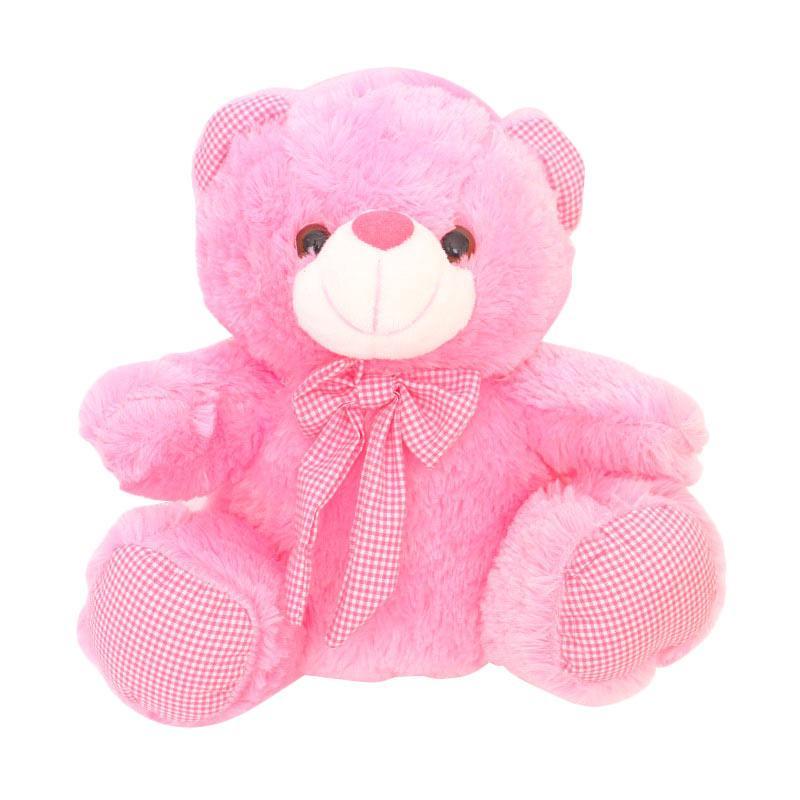 Istana Kado IKO00682 Teddy Bear Valentine Boneka Beruang - Pink