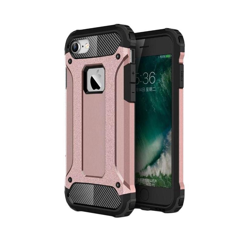 Spigen Transformers Iron Robot Hardcase Casing for iPhone 4 - Rose Gold