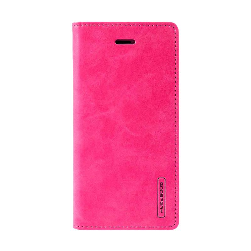 Mercury Bluemoon Flip Cover Casing for Samsung Galaxy A5 2017 - Hot Pink