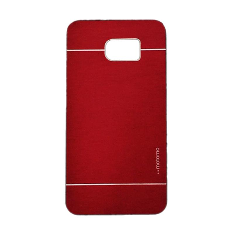 Motomo Metal Hardcase Backcase Casing for Samsung Galaxy Note 5 or N920 - Red