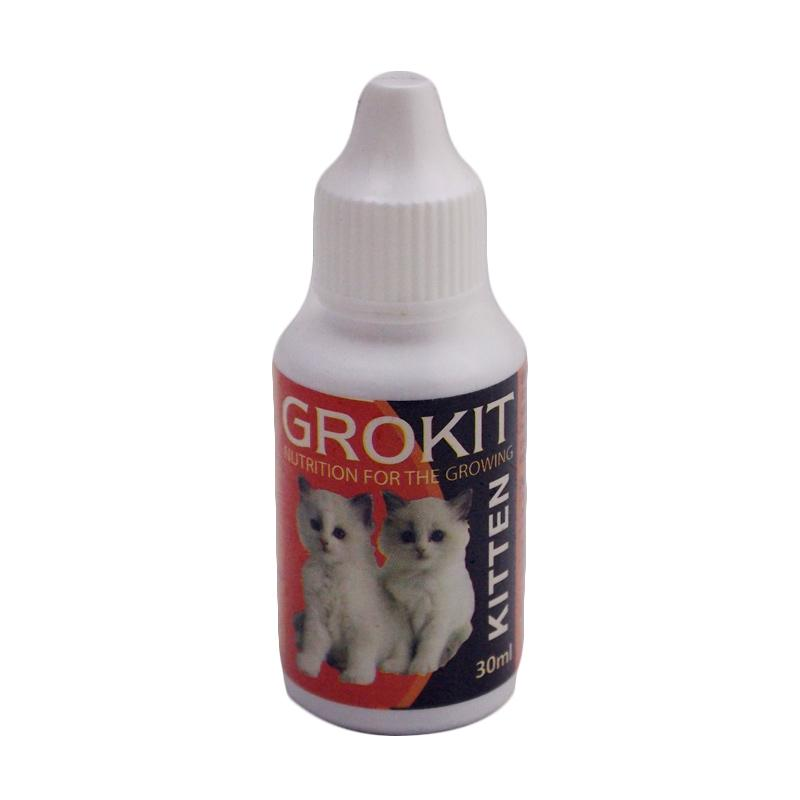 Tamasindo Original Grokit Suplemen Pertumbuhan Anak Kucing [30 mL]