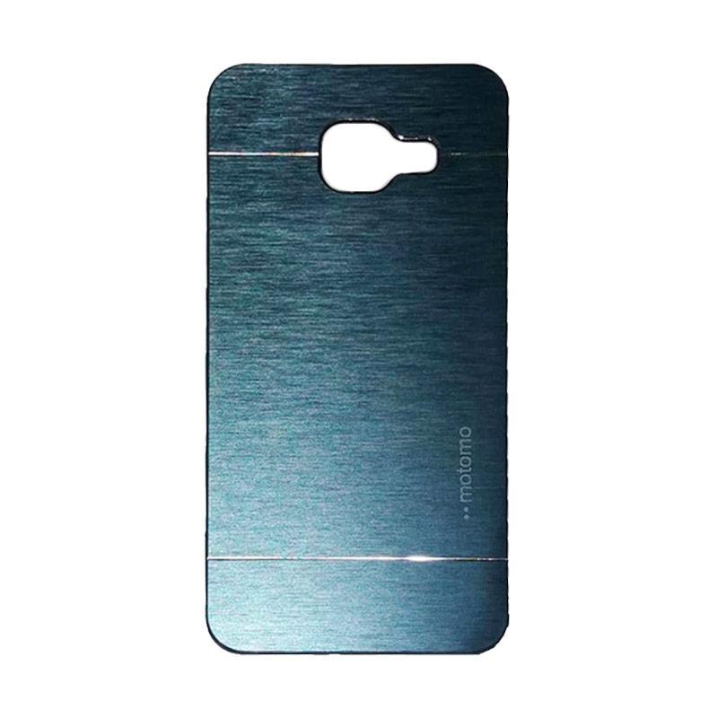 Motomo Metal Hardcase Backcase Casing for Samsung Galaxy A310 or A3 2016 - Dark Blue