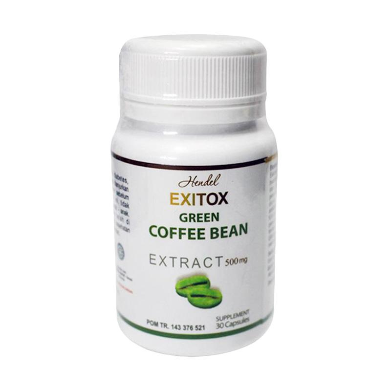 Afiat Herbal Super Exitox Green Coffee Bean Obat Pelangsing Suplemen