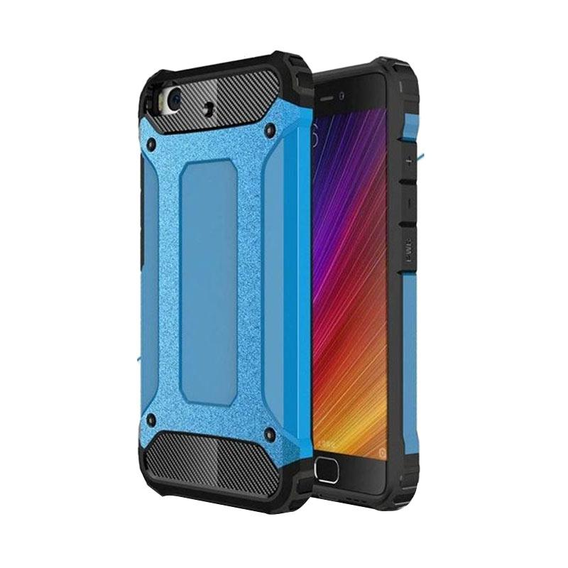 Spigen Transformers Iron Robot Hardcase Casing for Oppo F1S or A59 - Blue