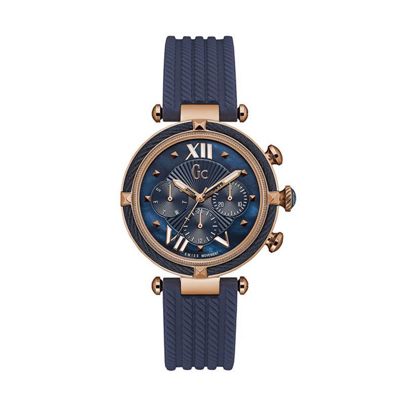 Guess Collection Y16005L7 Jam Tangan Wanita - Navy Blue Rose Gold