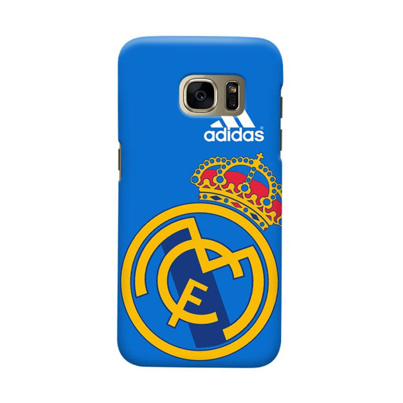 Indocustomcase Real Madrid FC RMA08 Casing for Samsung Galaxy S6