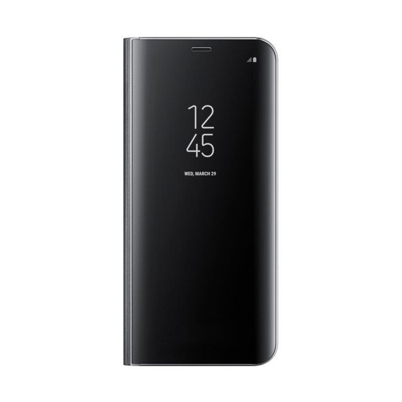 Samsung Original Clear View Standing Cover Casing for Samsung Galaxy S8 - Hitam