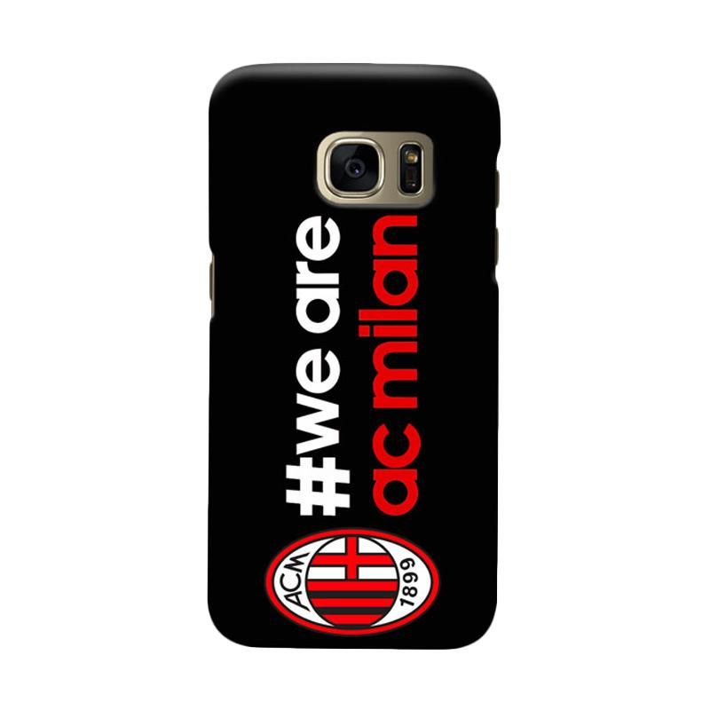 Indocustomcase AC Milan ACM02 Cover Casing for Samsung Galaxy S6
