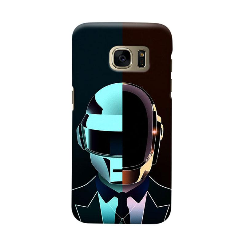 Indocustomcase Daftpunk Cover Casing for Samsung Galaxy S6
