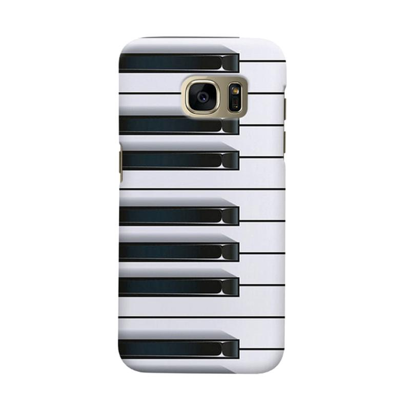 Indocustomcase Piano Cover Casing for Samsung Galaxy S6