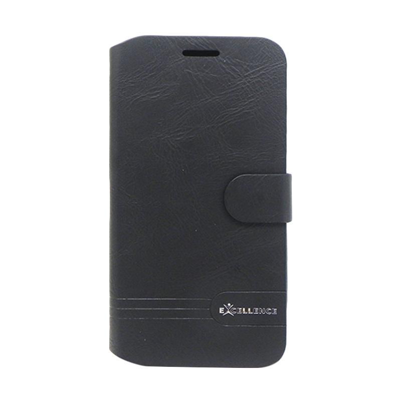 Excellence Flip Case Dragonite Casing for Asus Zenfone Max ZC550KL - Black