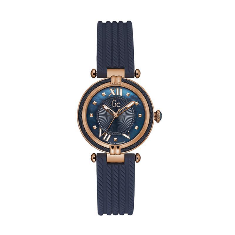 Guess Collection Y18005L7 Jam Tangan Wanita - Navy Blue Rose Gold
