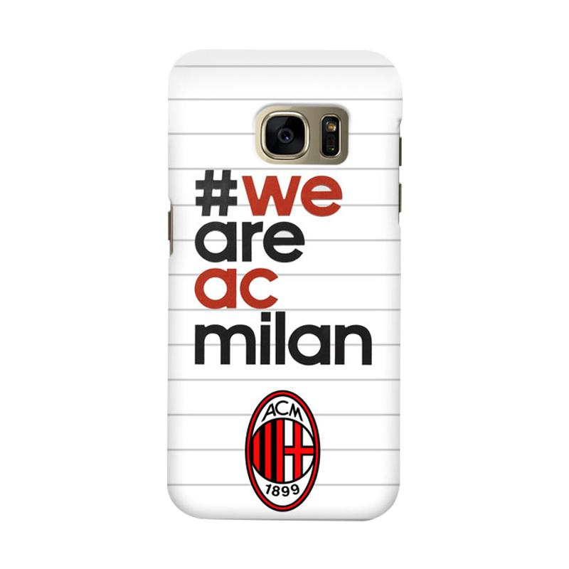 Indocustomcase AC Milan ACM03 Cover Casing for Samsung Galaxy S6
