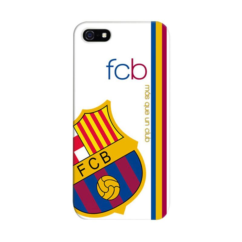 Indocustomcase FC Barcelona 02 Cover Casing for Apple iPhone 5/5S/SE
