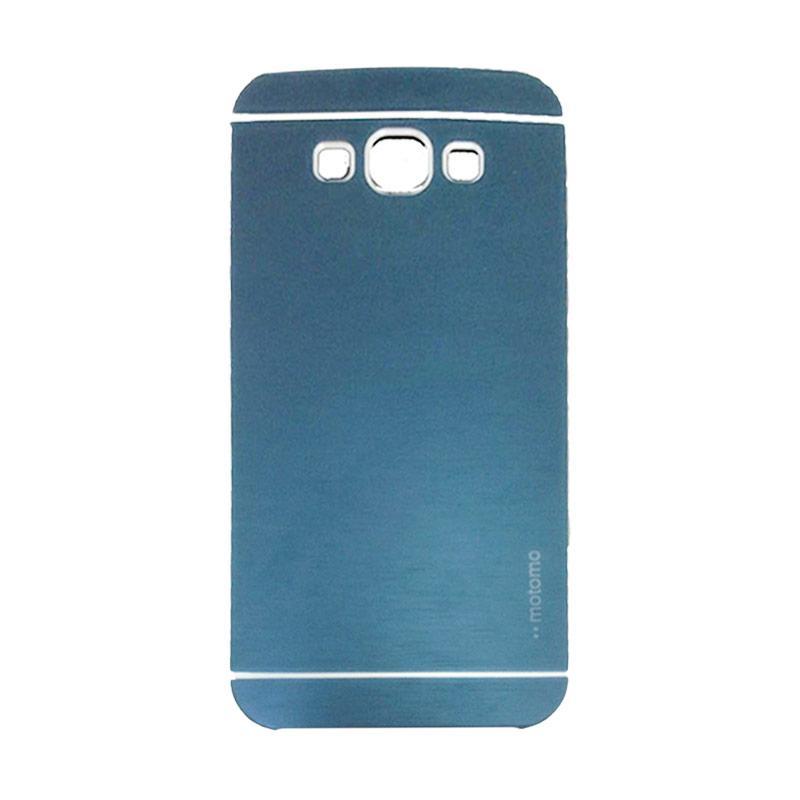 Motomo Metal Hardcase Backcase Casing for Samsung Galaxy A3 or A300F - Dark Blue