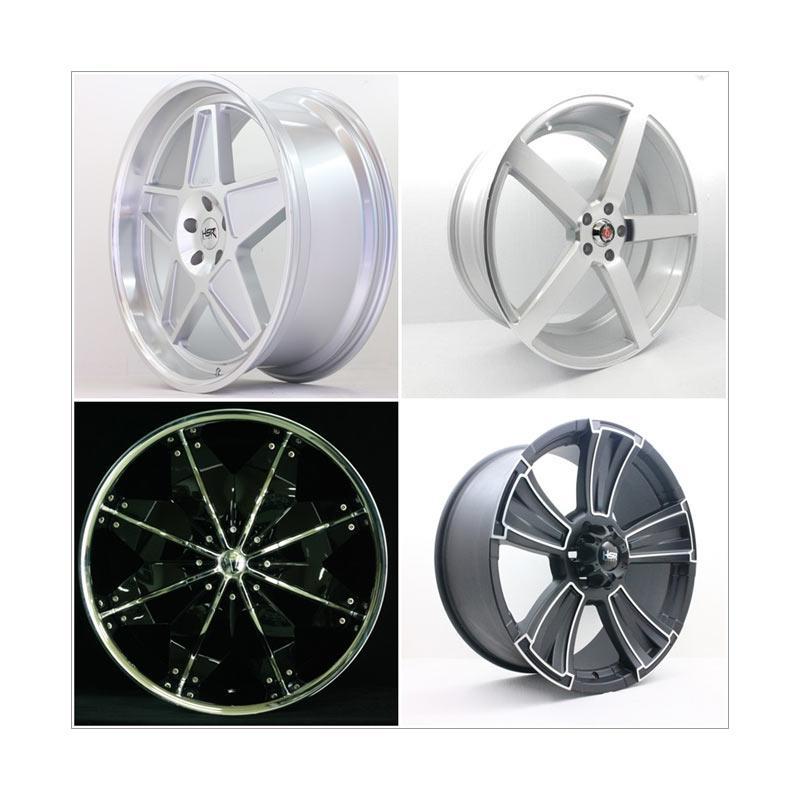 harga HSR Wheel Set With Tyres Z27250 Ring 22 Velg + Ban Mobil [Pasang di TKB Group] Blibli.com