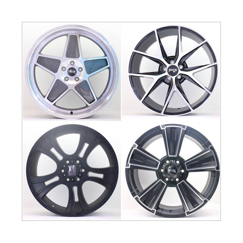 harga HSR Wheel Set With Tyres Z28500 Ring 22 Velg + Ban Mobil [Pasang di TKB Group] Blibli.com