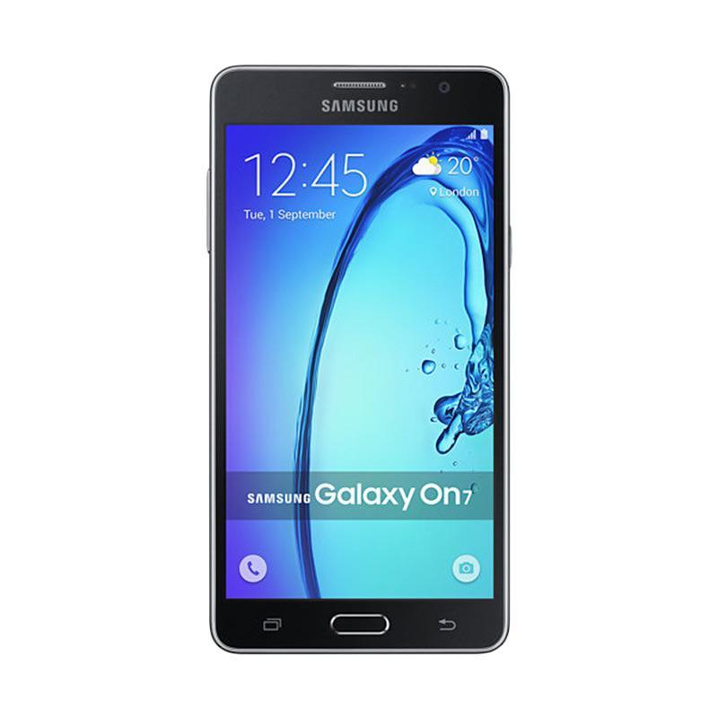 harga Samsung Galaxy On7 Smartphone - Black [8GB/ 1.5GB] + JBL Microwireless Speaker Blibli.com