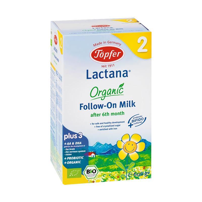harga Topfer Lactana Organic Follow On Milk Formula 2 Susu Bayi [6 bulan ke atas] Blibli.com