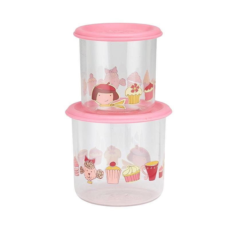 Good Lunch Box Container Cupcake Set of 2 Tempat Makanan [Size S/300 mL]