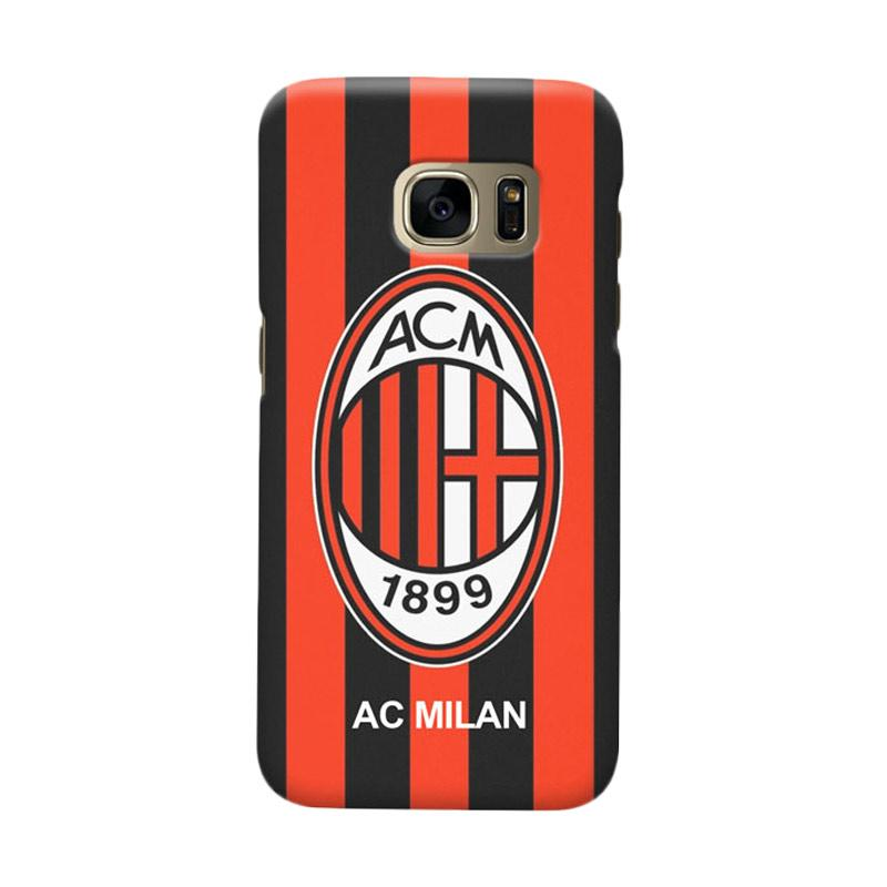 Indocustomcase AC Milan ACM06 Cover Casing for Samsung Galaxy S6