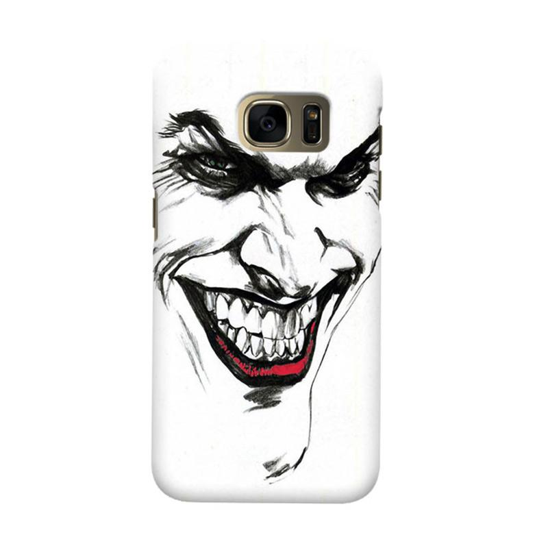 Indocustomcase Joker Cover Casing for Samsung Galaxy S6