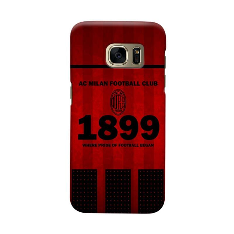 Indocustomcase AC Milan ACM08 Cover Casing for Samsung Galaxy S6