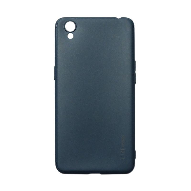 Lize Design Softshell Softcase Colorful Casing for Oppo A37 or Neo 9 - Navy
