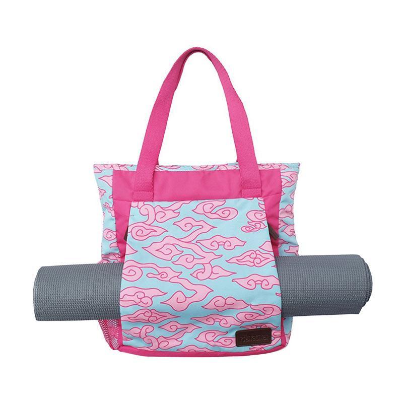 harga Nakula. Inc Yoga Mat Inc Yoga Mat Batik Exuberant Pink on Fuchsia Tote Bag - Pink Blibli.com