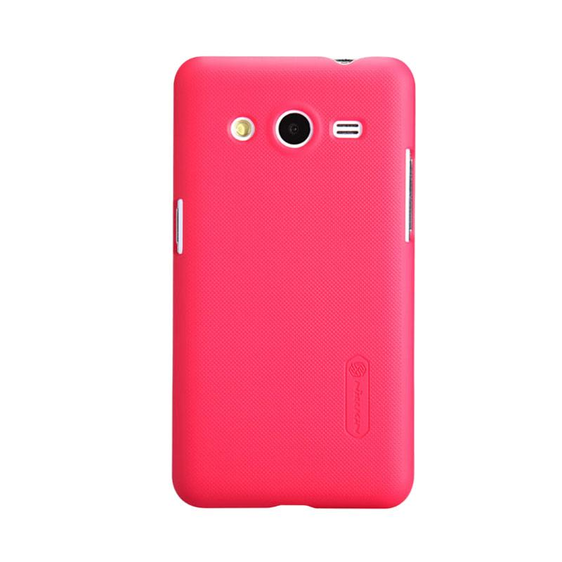 Nillkin Original Super Shield Hardcase Casing for Samsung Galaxy Core - Red [1 mm]