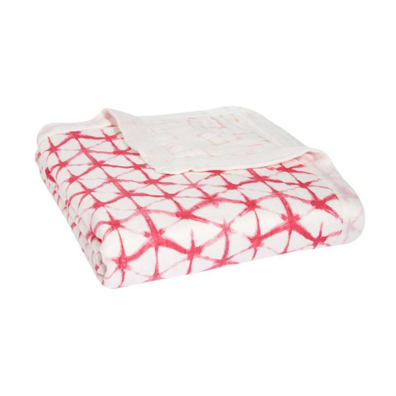Aden+Anais Silky Soft Dream Blanket Selimut Bayi dan Anak - Berry Shibori