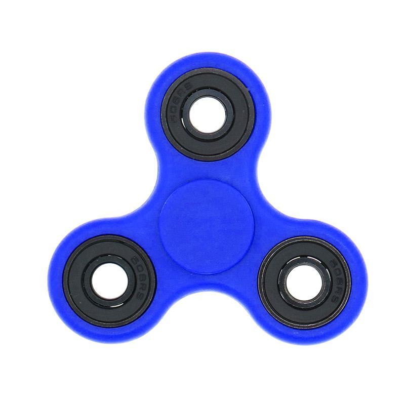 Berrisom Hybrid Black Ceramic Bearing Premium Fidget Spinner - Biru