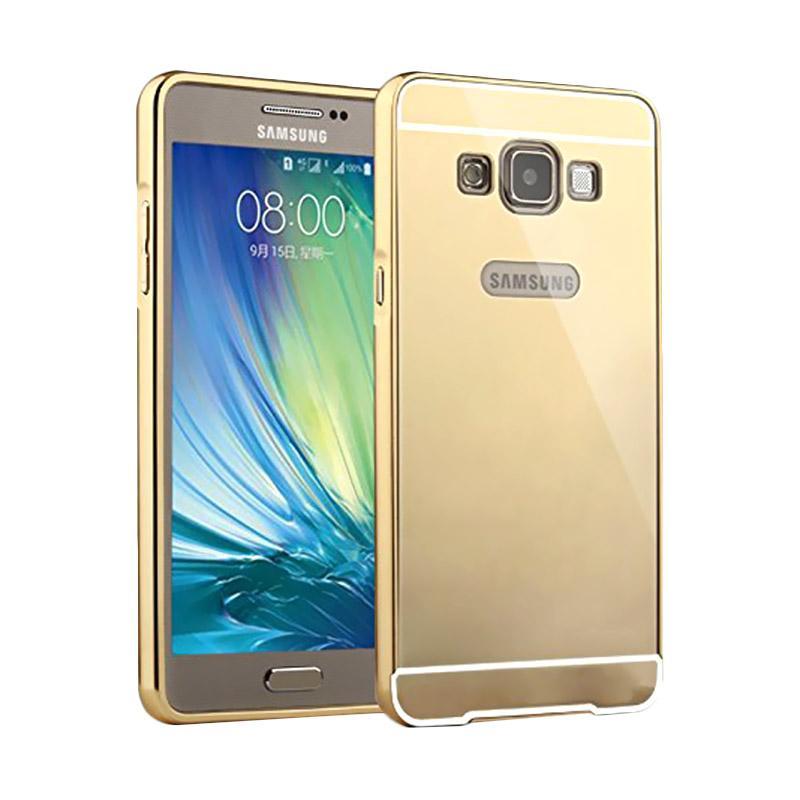 Jual Case Bumper Chrome With Backcase Mirror Casing for Samsung Galaxy V G313 - Gold Online - Harga & Kualitas Terjamin | Blibli.com
