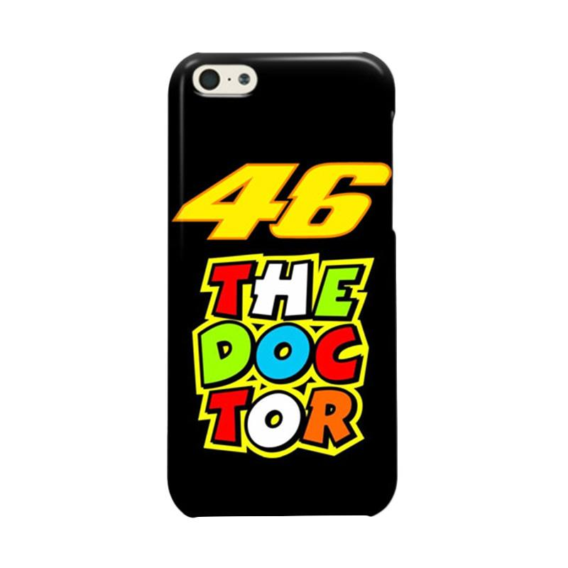 Indocustomcase Valentino Rossi The Doctor VR46 04 Cover Casing for Apple iPhone 5C