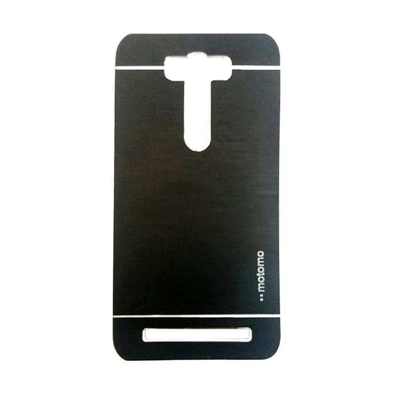 Motomo Metal Hardcase Backcase Casing for Asus Zenfone Selfie ZD551KL - Black