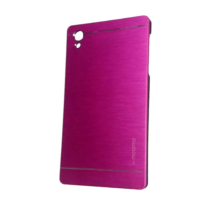 Motomo Metal Hardcase Backcase Casing for Sony Xperia Z5 or Z5 Dual - Pink