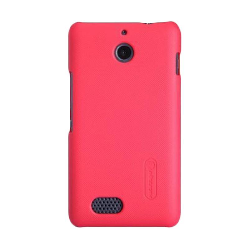 Nillkin Original Super Shield Hardcase Casing for Sony Xperia E1 - Red [1mm]