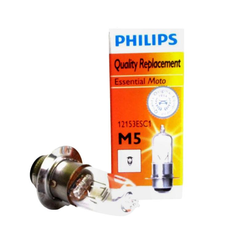 harga Philips Aksesoris Motor Bohlam Lampu Depan Halogen 12V35W M5 PR Kaki 3 [DOH1004] Blibli.com
