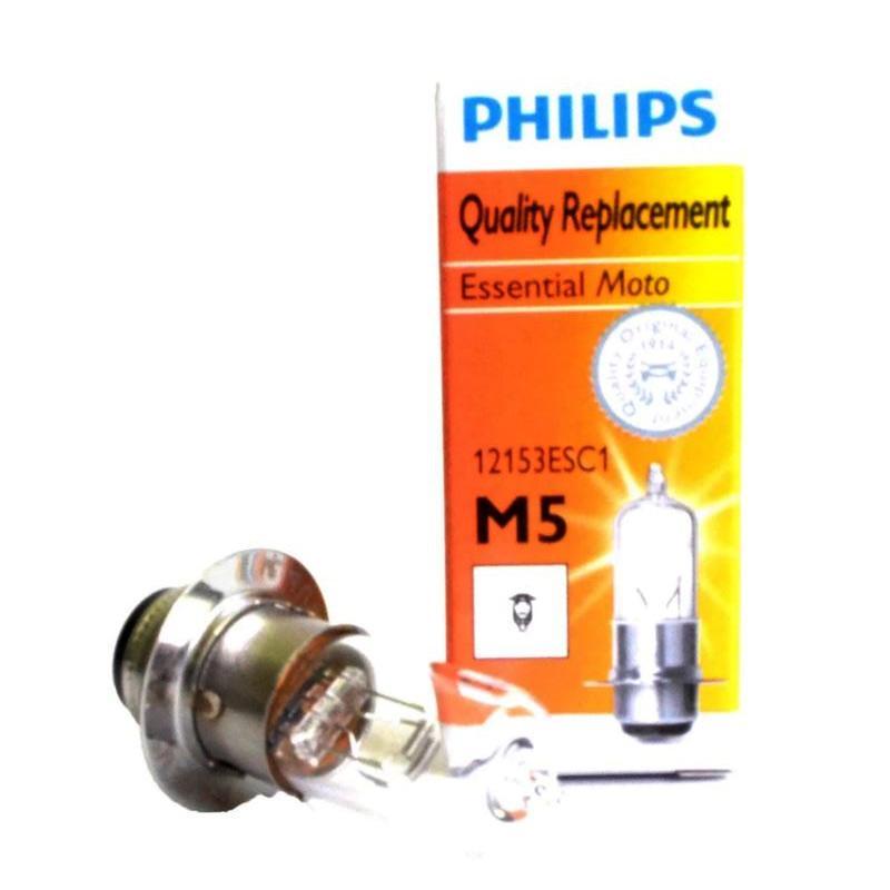 Philips DOH8021 12V35W M5 PR Kaki 1 Aksesoris Motor Bohlam Lampu Depan Halogen