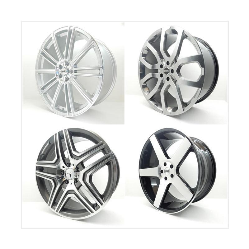 harga HSR Wheel Set With Tyres Z19750 Ring 22 Velg + Ban Mobil [Pasang Di TKB Group] Blibli.com