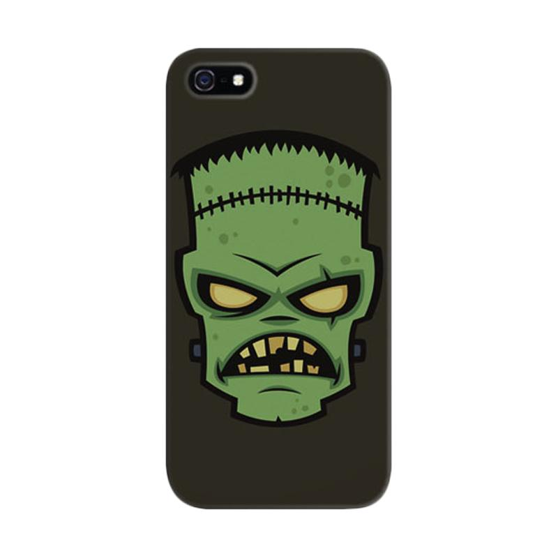 Indocustomcase Frankenstein Monster Custom Hardcase Casing for Apple iPhone 5/5S/SE