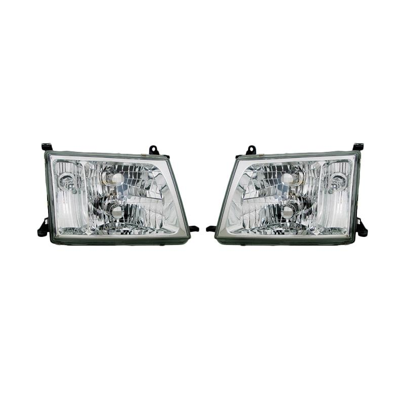 harga OTOmobil SU-TY-20-A029-01-6B Head Lamp Set for Toyota Land Cruiser VX 100 1998 Kristal Blibli.com