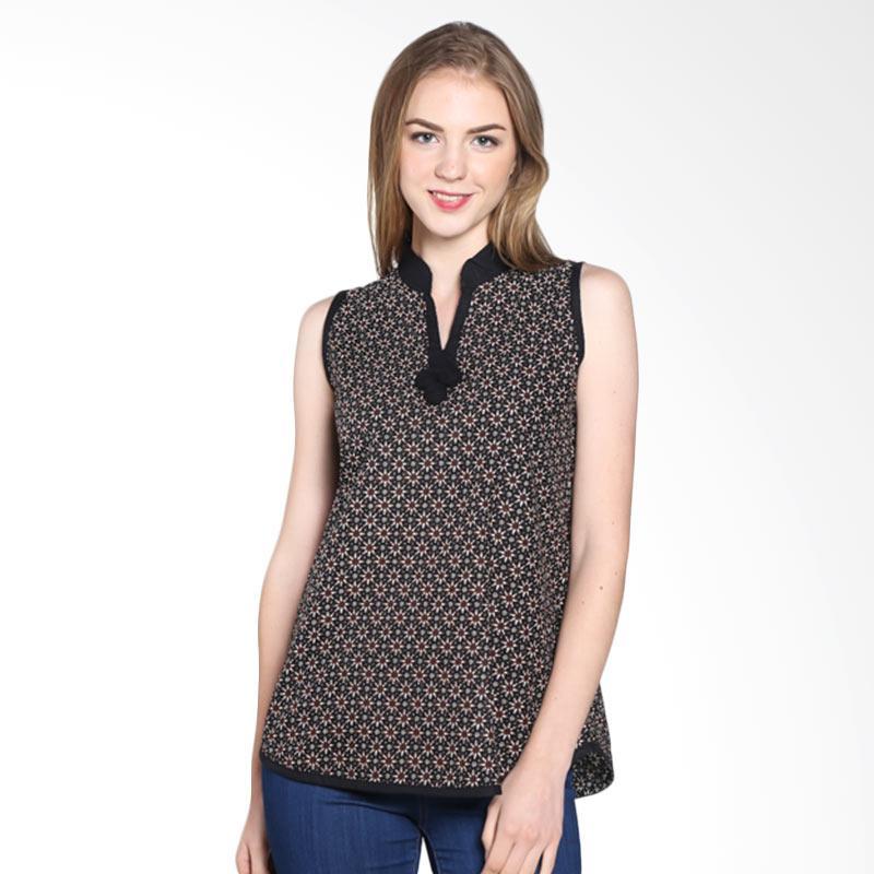 Batik Pria Tampan Wbltl-04081621p Truntum Sleeveless Blouse - Teak